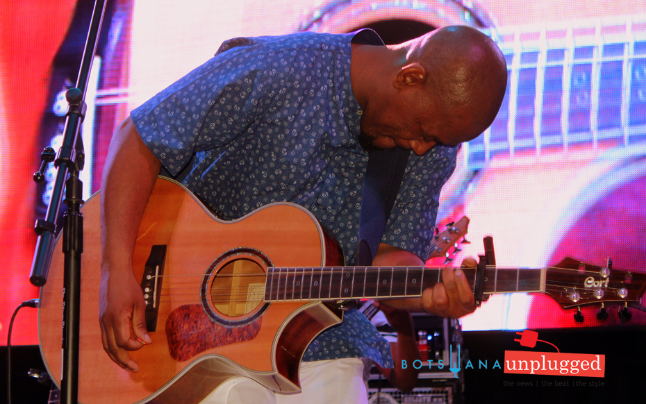 Tomeletso Sereetsi performing last month at the GIMCXperience Jazz concert featuring Jonathan Butler.