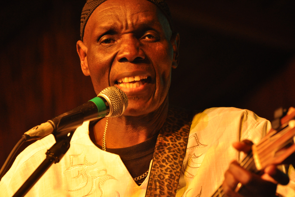 Zimbabwean musician, businessman, philanthropist, human rights activist and UNICEF Goodwill Ambassador for Southern Africa; Oliver Mtukudzi