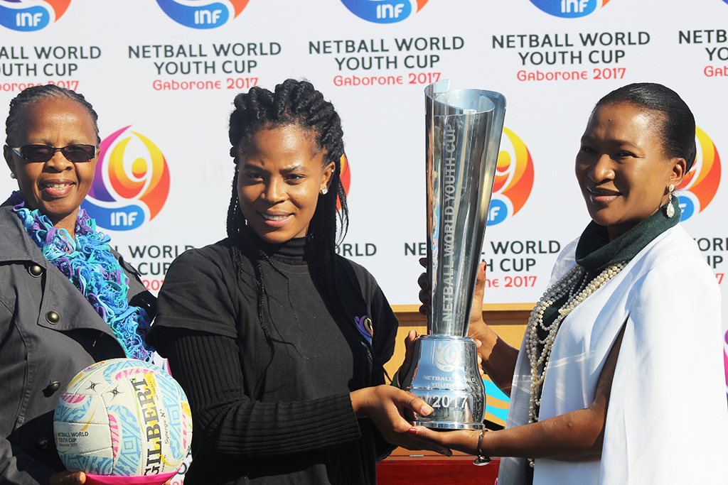 Netball trophy tour gets underway