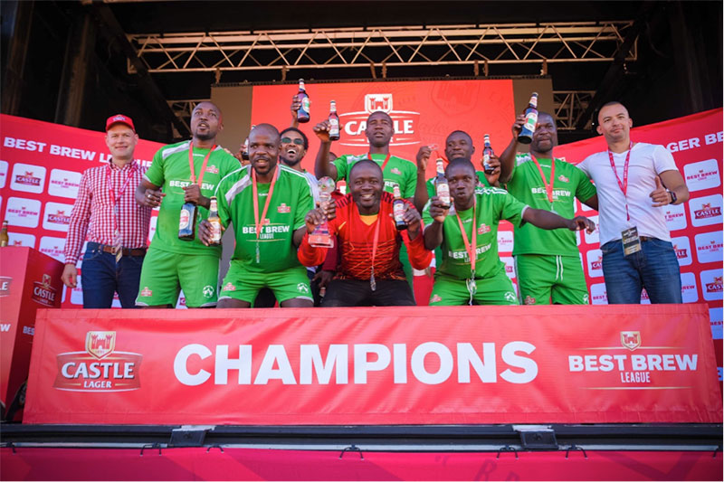 Zambia beats Botswana to lift inaugural Best Brew League cup
