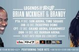 Legends of R&B presents Brian McKnight and Brandy this December