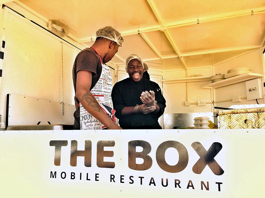 The inspiring Botswana story of mobile meals outta The Box