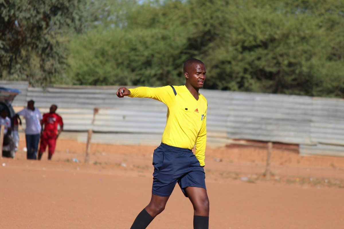 Ex Botswana referee seals deal with mitre