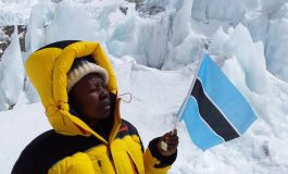 First Motswana to summit Everest returns home