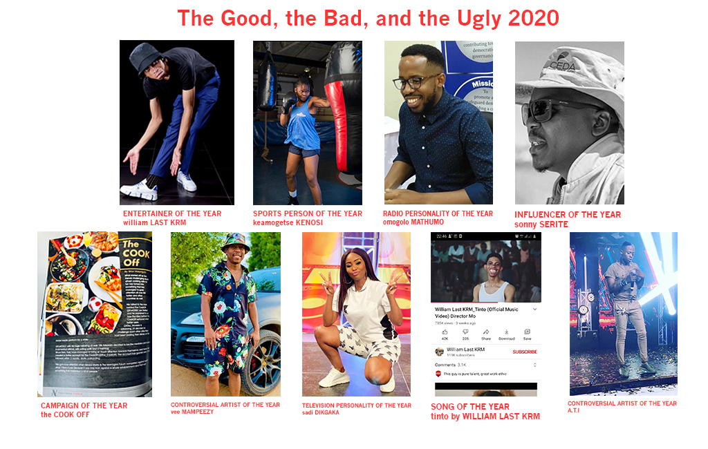 The Good, the Bad, and the Ugly 2020