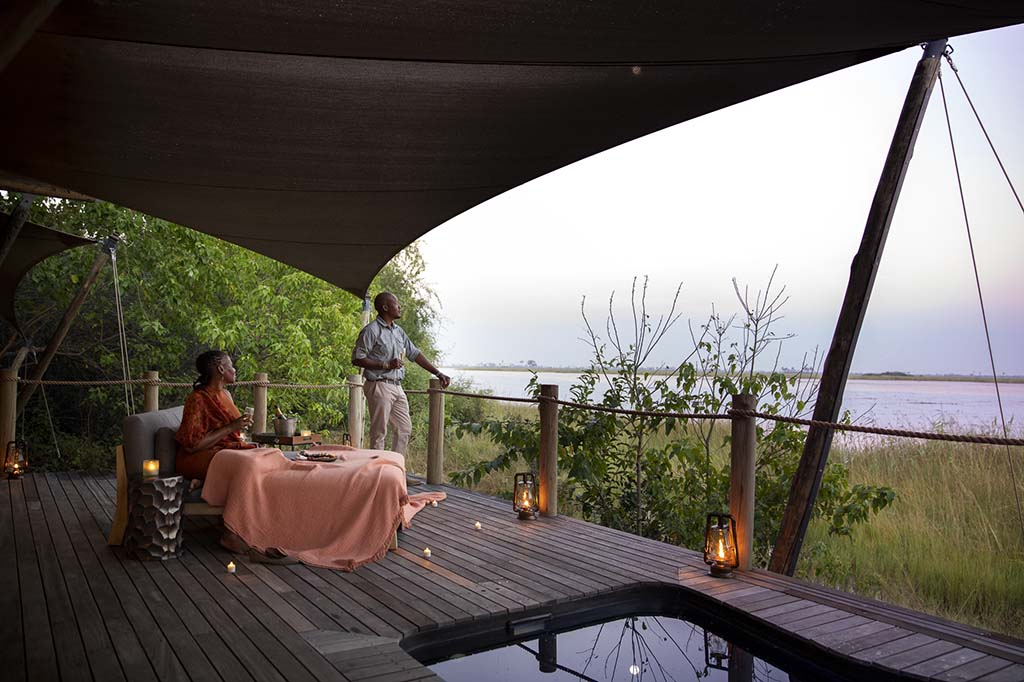 Wilderness Safaris opens the new Dumatau camp